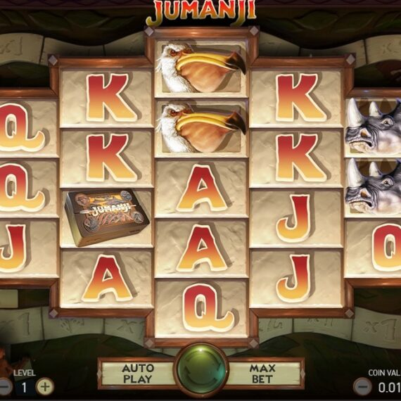 Jumanji spillemaskine